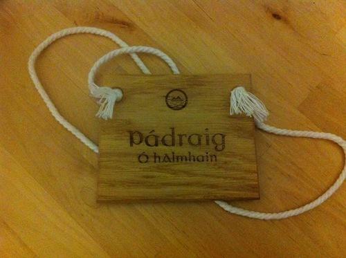 Gaelic Badges
